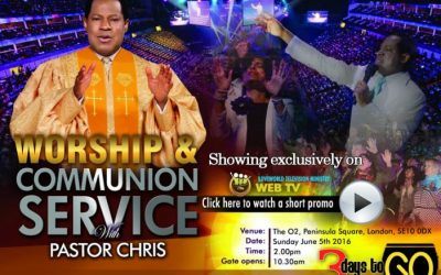 Global Worship and Communion Service