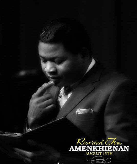Happy Birthday To Rev Tom Amenkhienan