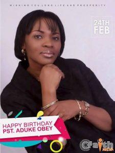 Happy Birthday To Pastor Aduke Obey 1