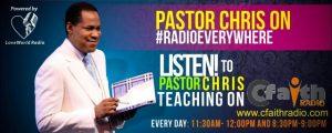 Loveworldradio Commences Transmission On Cfaith Radio Covering UK, USA & Africa 1
