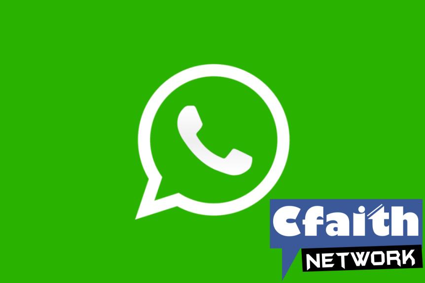 Join Cfaith Network On WhatsApp